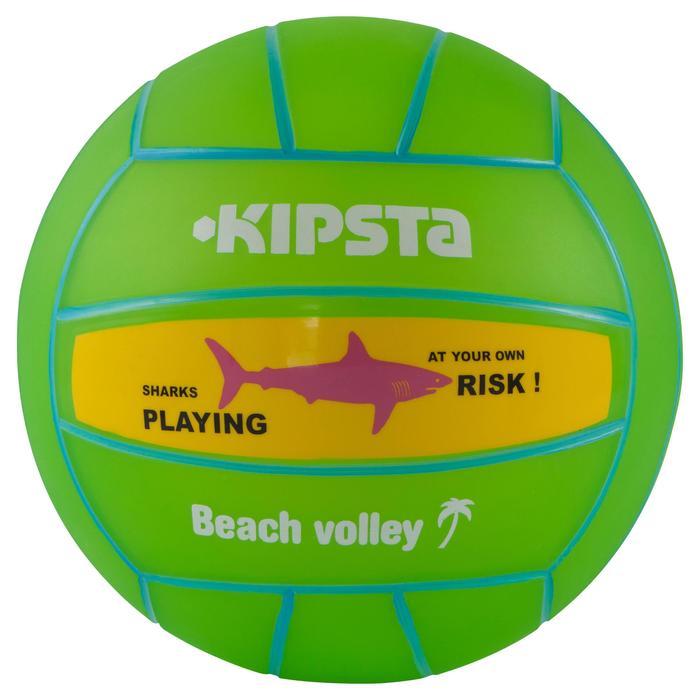 Ballon de beach-volley BV100 jaune et - 556041