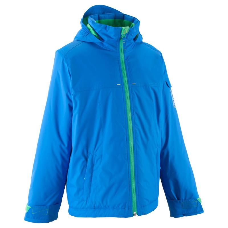 Veste ski enfant garçon FIRSTHEAT bleue