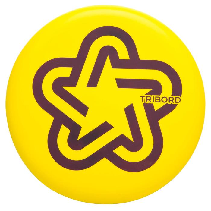 D Soft Frisbee - Orange - 556392