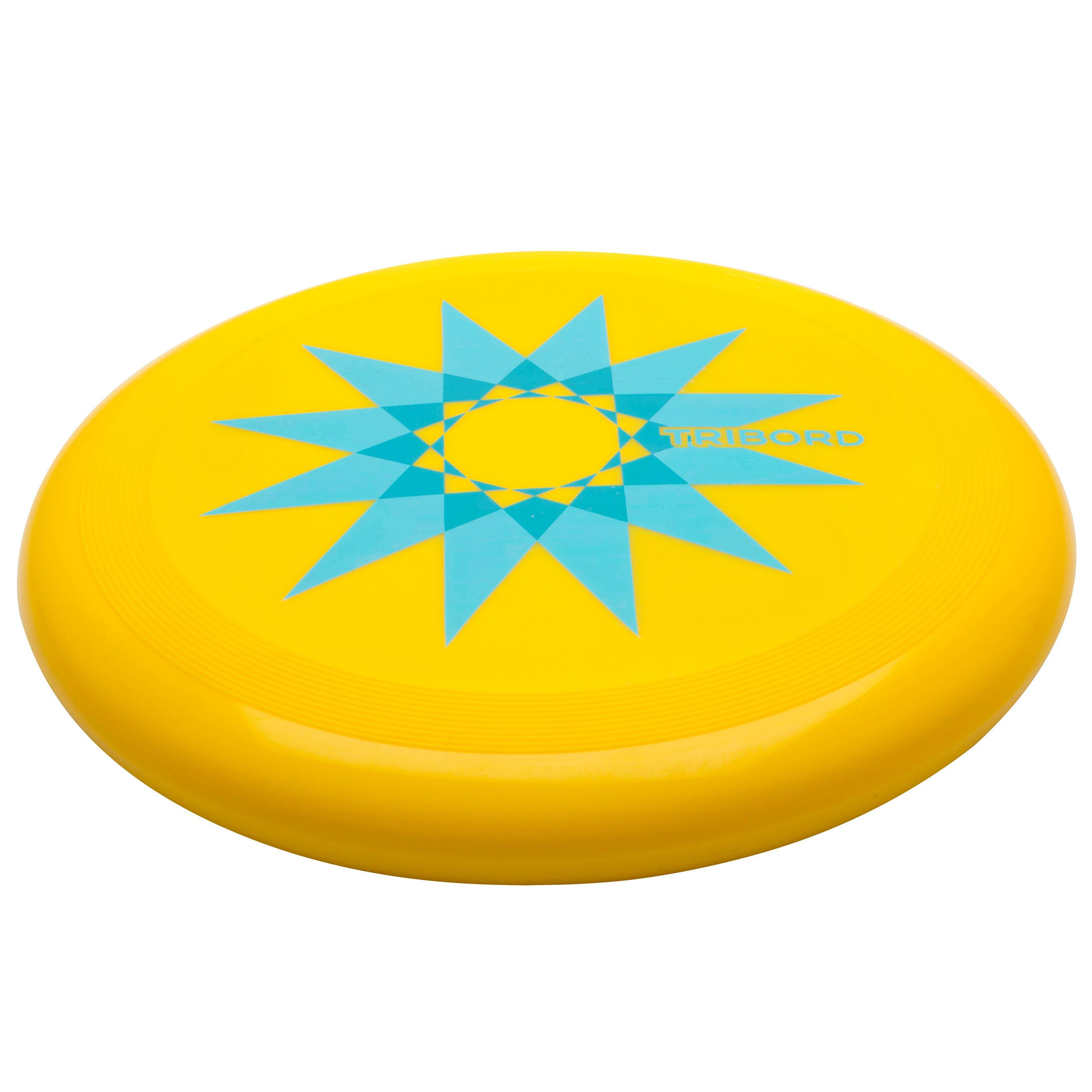 Frisbee D90 étoile jaune