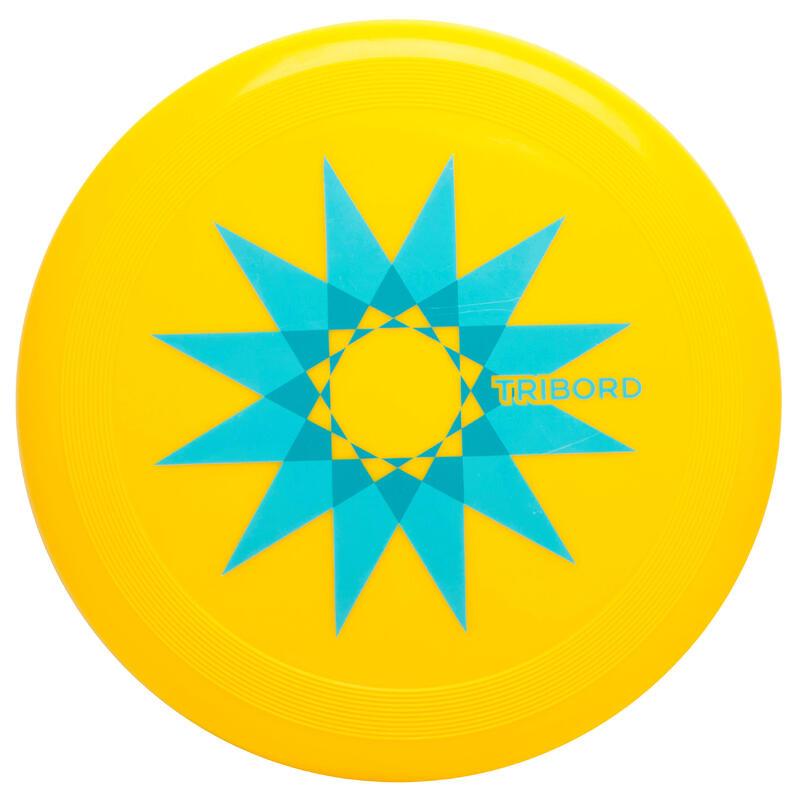 Frisbee D90 Star geel