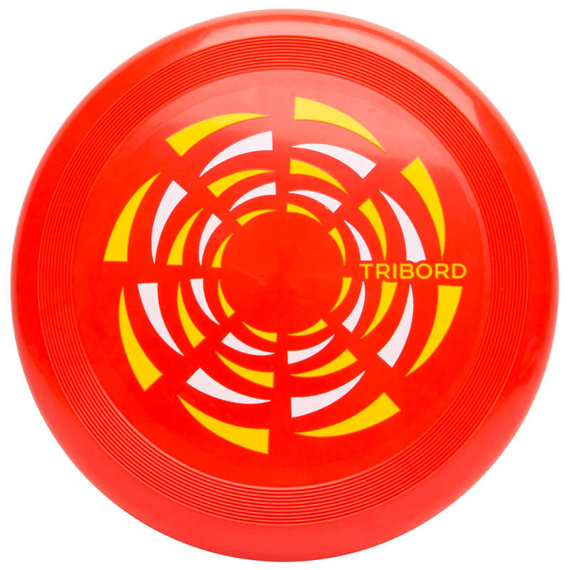 FLYING DISCS / BOOMERANG Frisbees and Boomerangs - D90 Frisbee - Wind Red OLAIAN - Sports