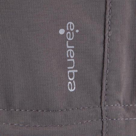 Forclaz 500 Girls' Modulpant - Grey