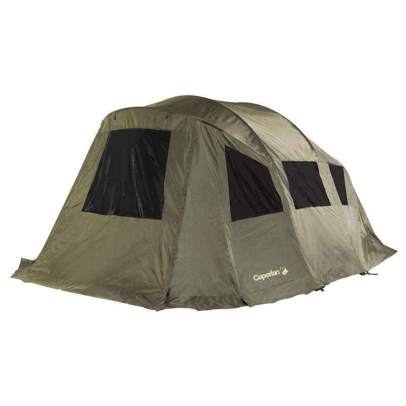 CARP CAMP SHELTERS Fishing - TANKER PANORAMAX FLY COVER CAPERLAN - Carp Fishing