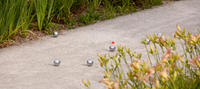 3 Smooth Recreational Petanque Balls