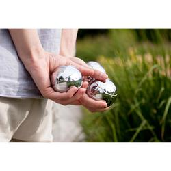 3 Smooth Recreational Petanque Boules