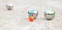 Jeu de boules set Disco 100 - 557858