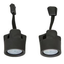 Zelflozende lensplug voor hardshell sit-on-top kajak 2 stuks