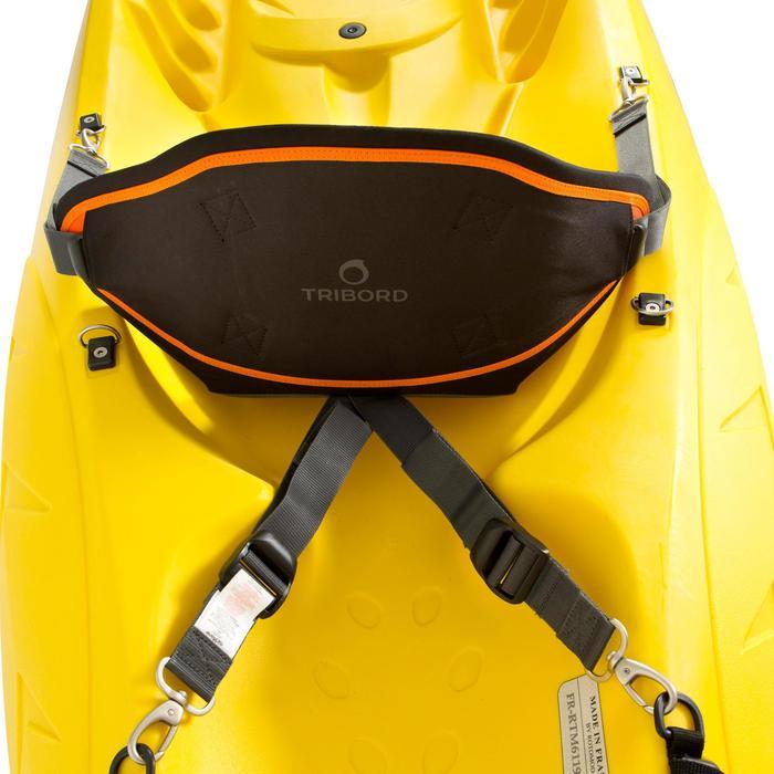 Siège confort canoë Kayak fixation 4 points pour sit on top