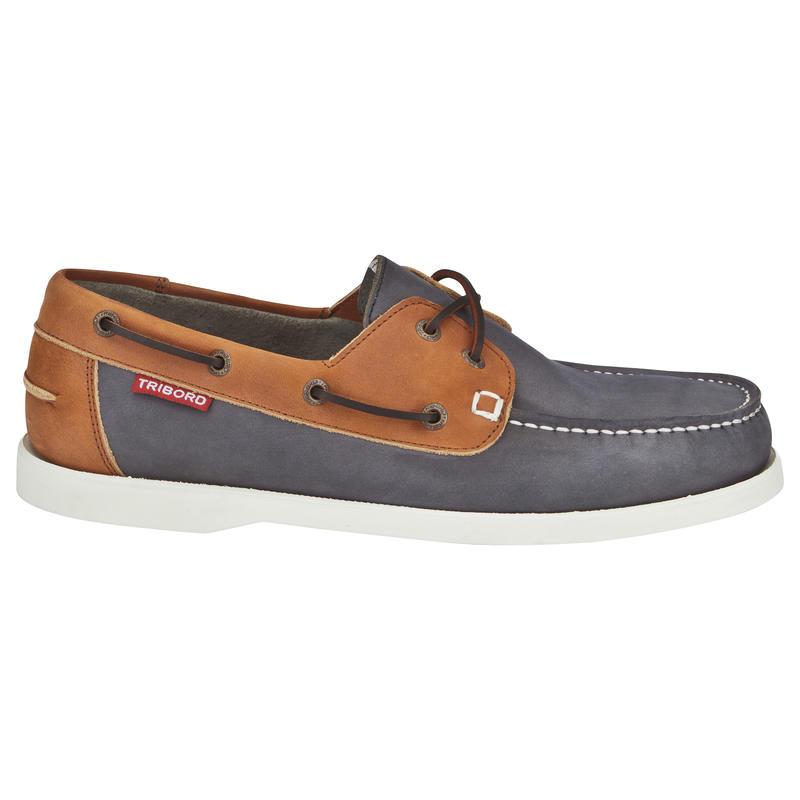 cuir Chaussures bleumarrontribordvoile homme CR500 bateau lFc1JTK