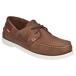 Chaussures bateau cuir homme CR500