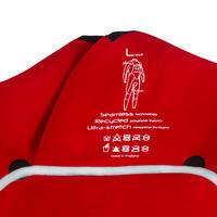 900 4/3 mm neoprene front zip surfing wetsuit.