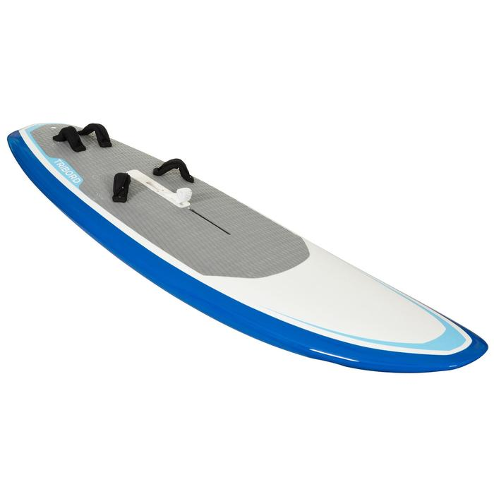 Stijve windsurfplank 170 l met zwaard en footstraps