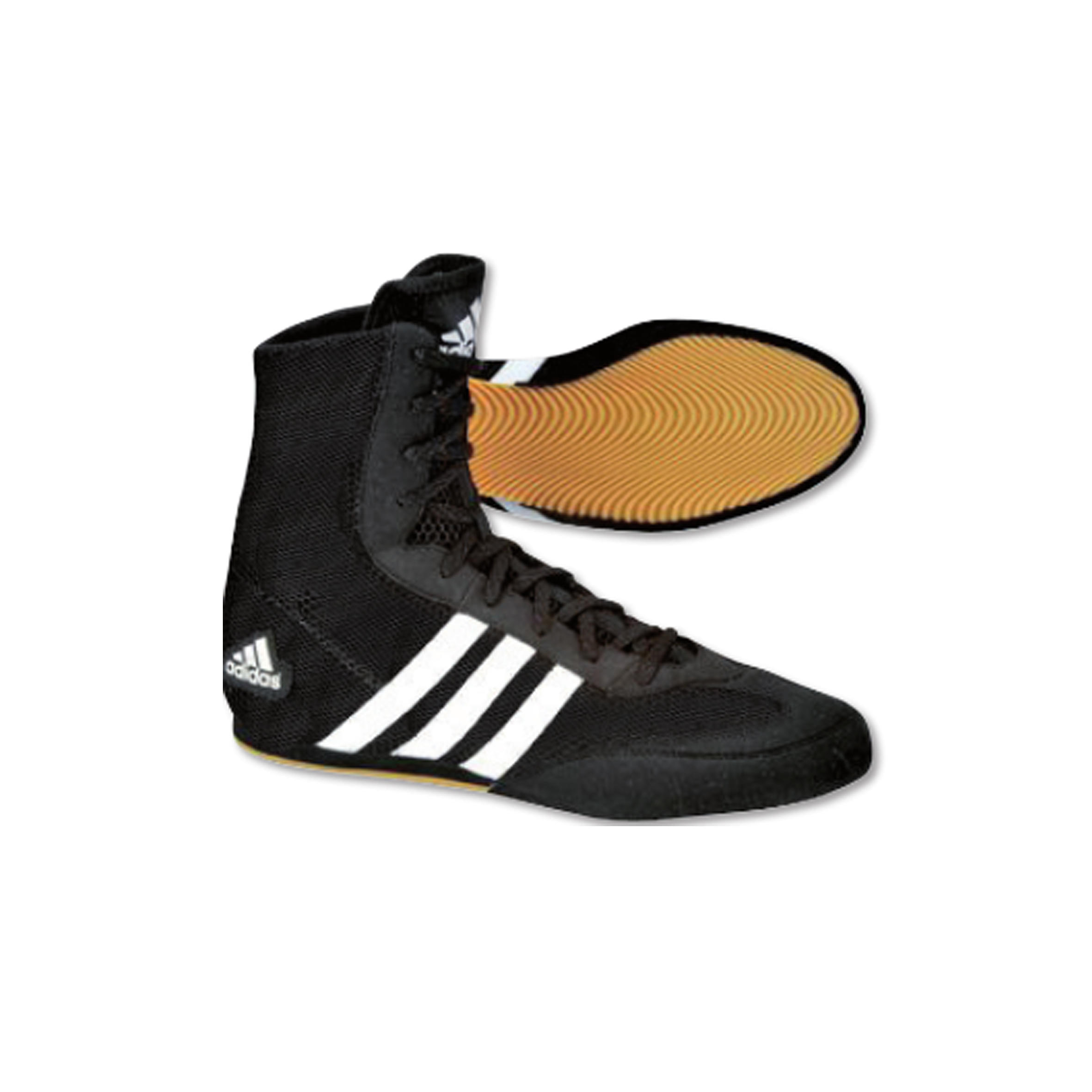 Adidas Box-Hog II Boksschoenen Zwart