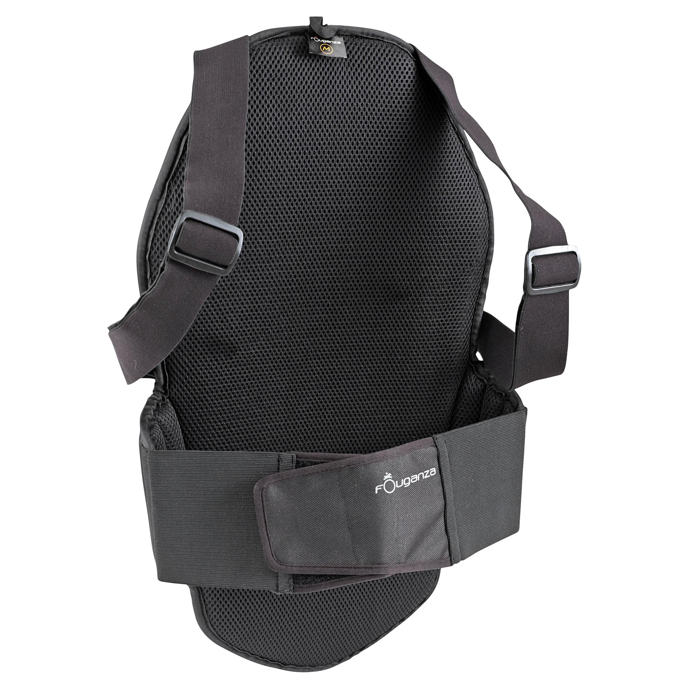 Protection dorsale équitation enfant et adulte SÉCURITÉ noir