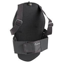 Protector dorsal de equitación SAFETY negro adulto y niño