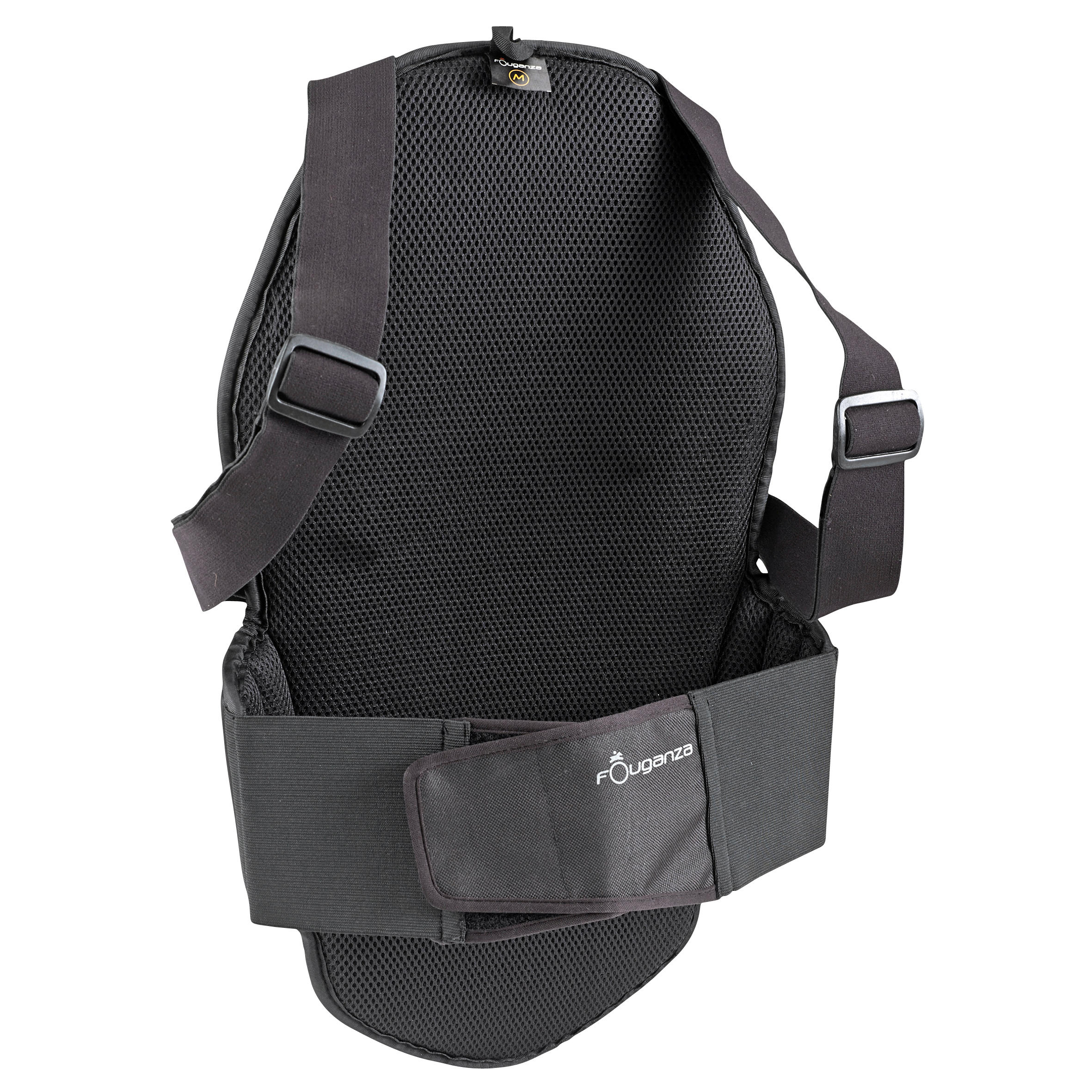 Adult Horse Riding Safety Dorsal Shell- Black