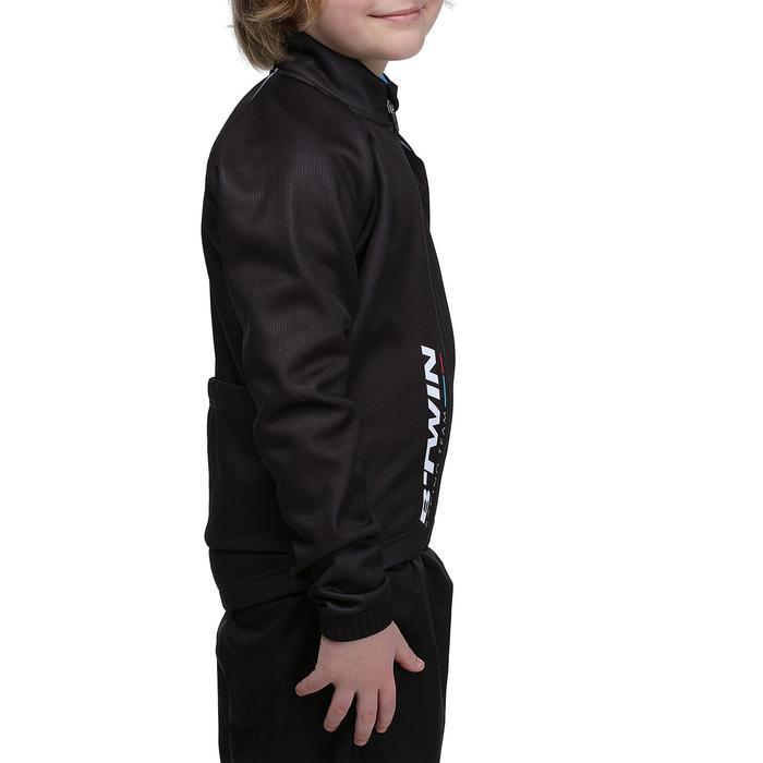 Wielrenjack 500 voor kinderen zwart