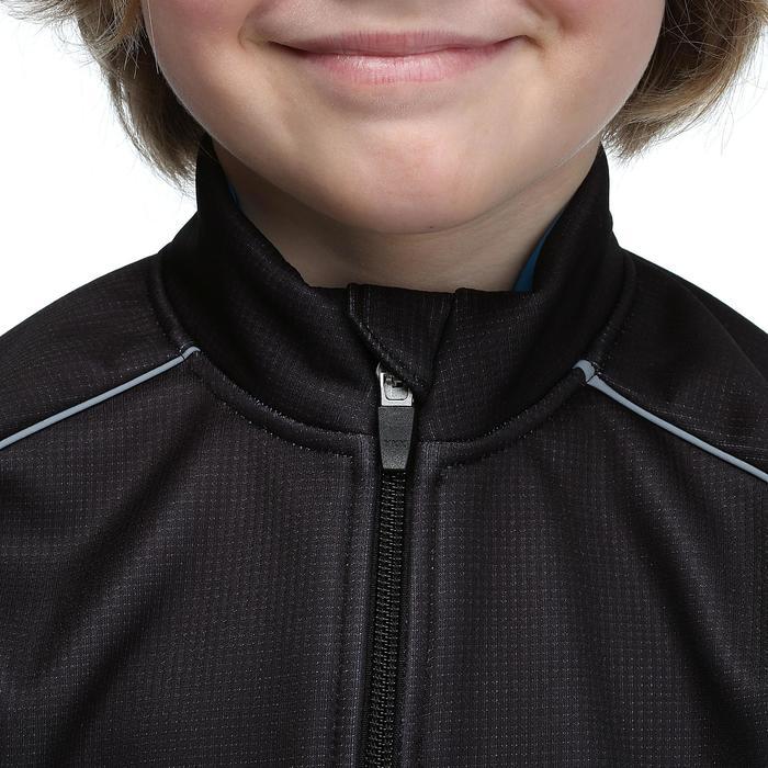 Fietsjack 500 voor kinderen zwart