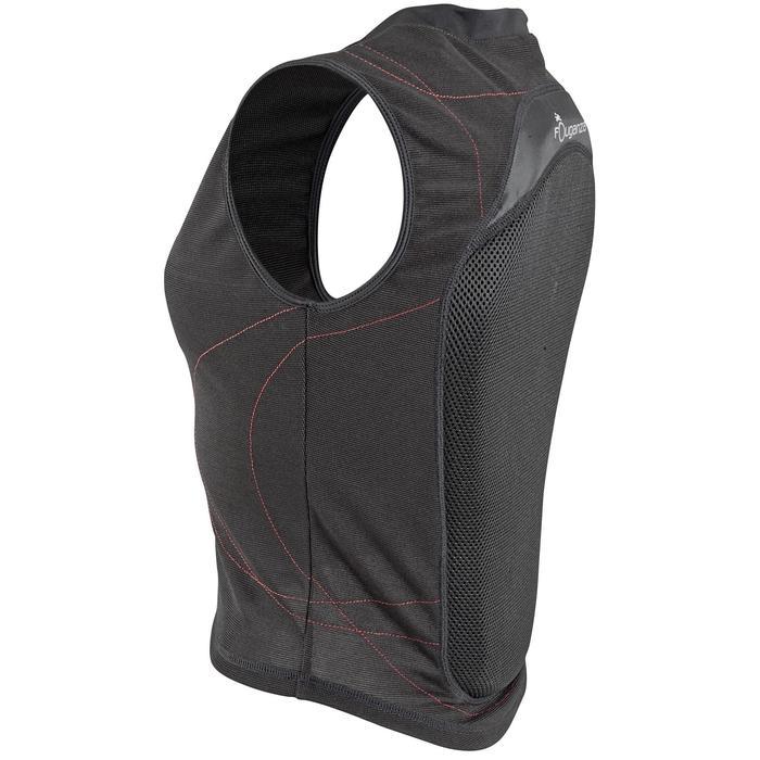 Protection dorsale souple équitation enfant et adulte noir - 560311
