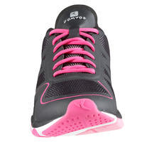 360+ Women's Fitness Shoes - Black/Pink