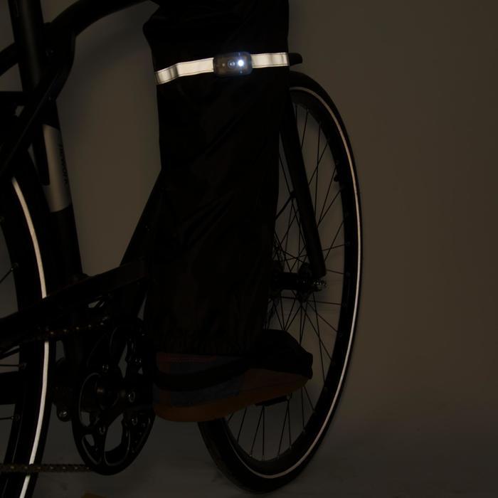 Surpantalon vélo ville enfant 300 noir