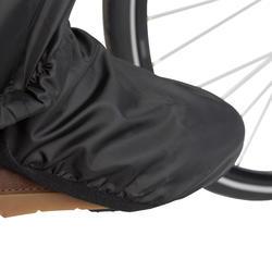 Surpantalon de vélo de ville 300 noir - Enfants