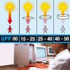 UV-werend zwemshirt met lange mouwen voor dames, voor surfen, wit/bloemen - 565121