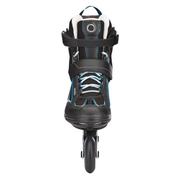 Roller fitness homme FIT 5 noir bleu - 565426