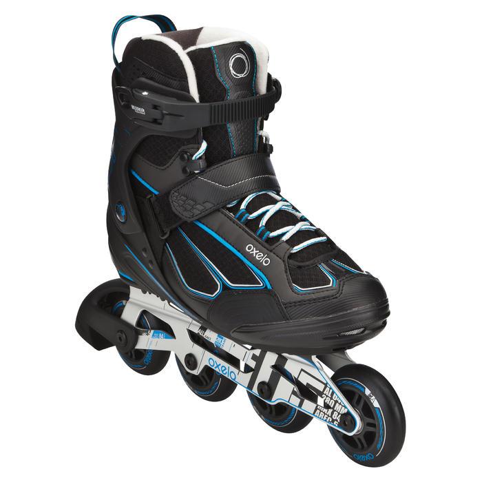 Roller fitness homme FIT 5 noir bleu - 565428