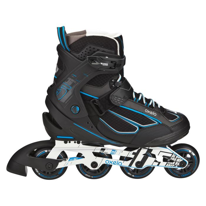 Roller fitness homme FIT 5 noir bleu - 565430