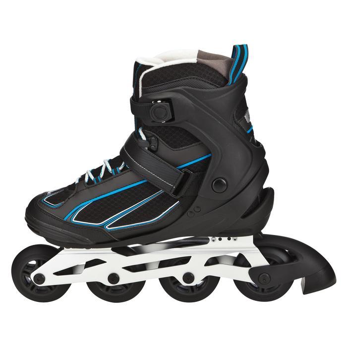 Roller fitness homme FIT 5 noir bleu - 565431