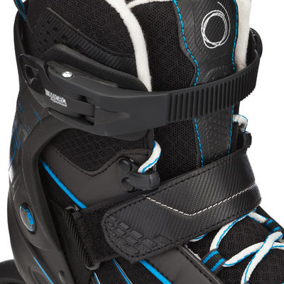 حذاء تزلج FIT 5 Inline للرجال - أسود/أزرق