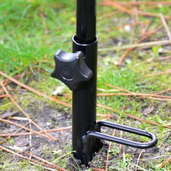 Bodenanker Regenschirm, Angeln