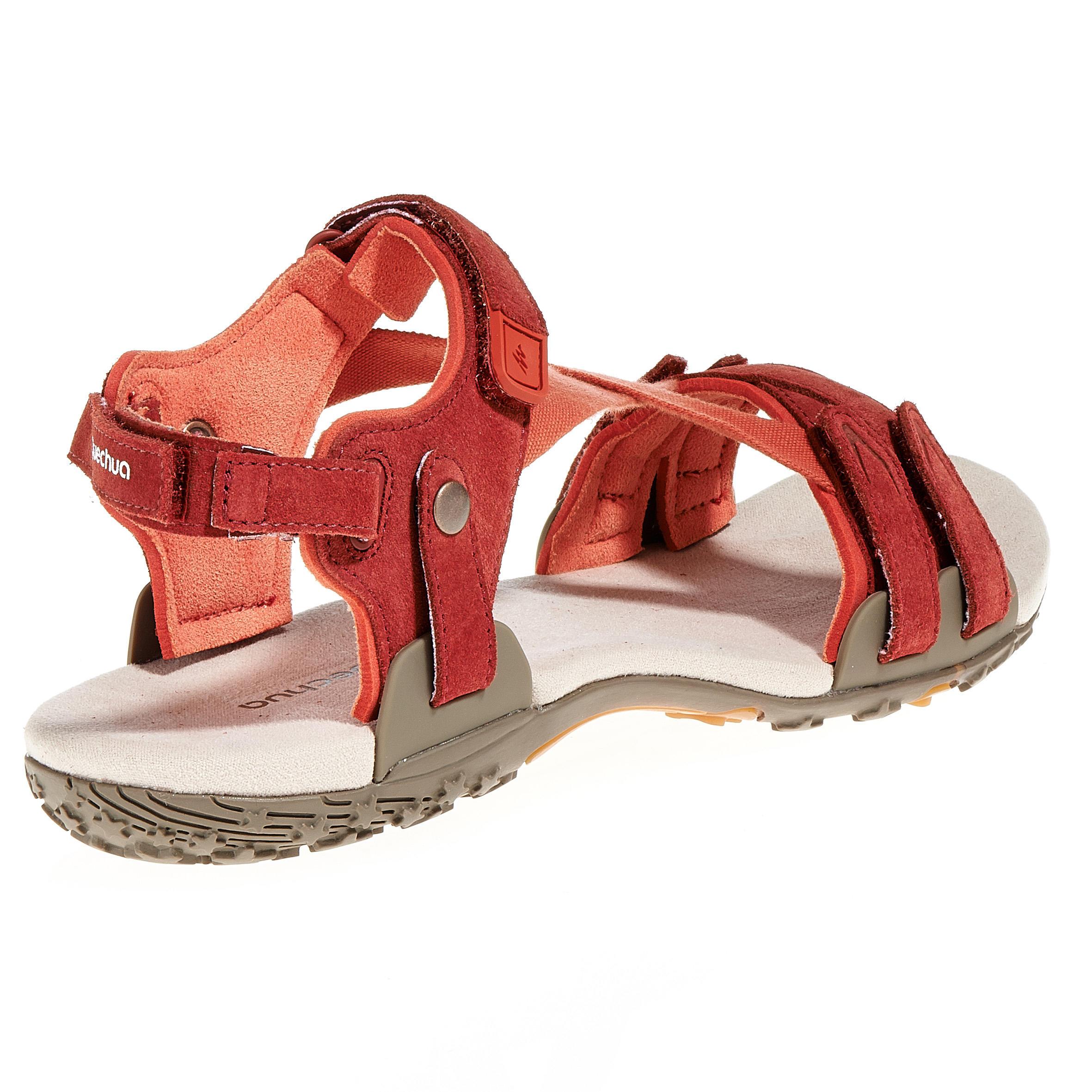 Sandale Randonnée Femme Arpenaz Swtich* 200 Brique