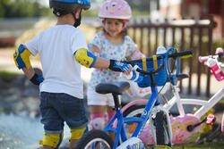 Set fietsbeschermers XXS voor kinderen - 56682