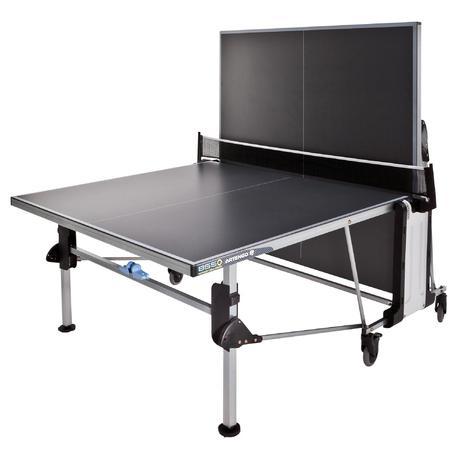 Tavolo ping pong ft855 outdoor grigio scuro artengo - Tavolo ping pong artengo ...
