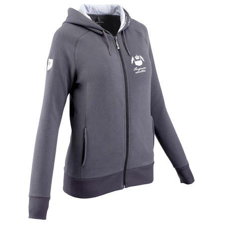VINTAGE Women's Riding Sweatshirt - Dark Grey