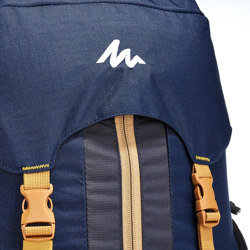 Men's Mountain Trekking Backpack _PIPE_EASYFIT 50L Blue