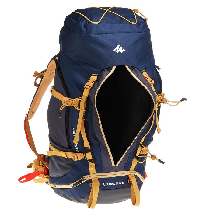 Sac à dos Trekking easyfit homme 50 litres bleu