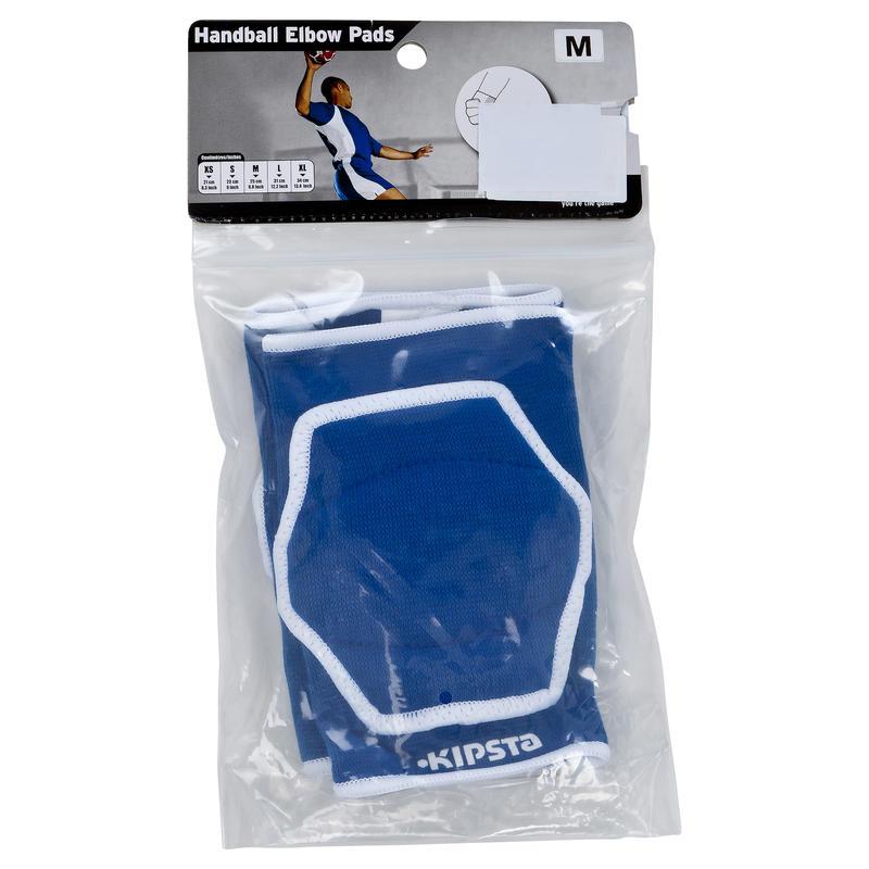 H100 Adult Handball Elbow Guards - Blue