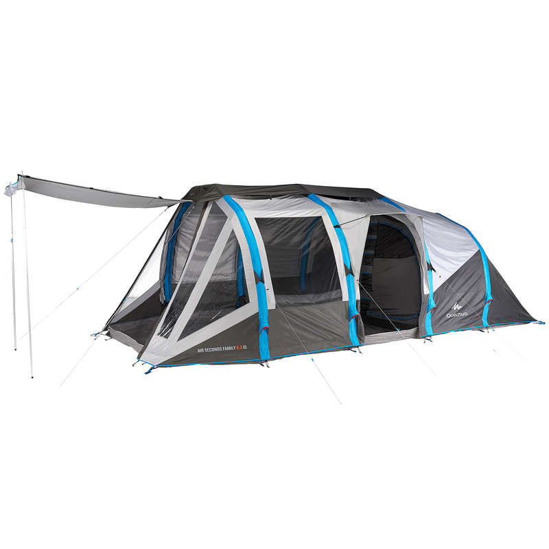 SPARE PARTS FAMILY/BASE CAMP TENTS Camping - AS 6.3 XL Fibreglass Pole Kit QUECHUA - Tent Spares and Repair