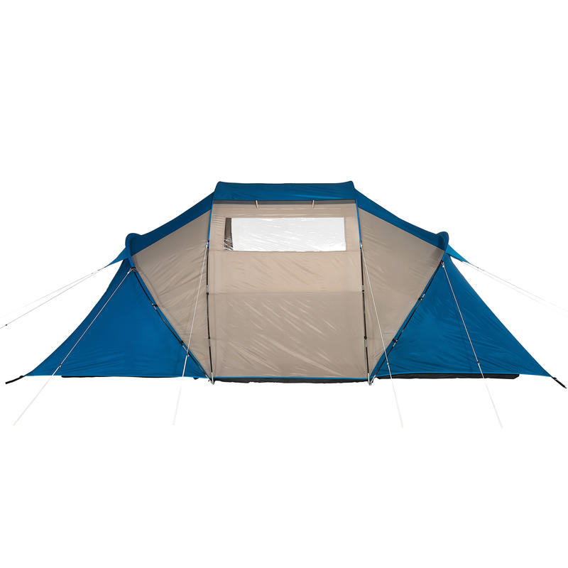 Arpenaz 4.2 Family Camping Tent _PIPE_ 4 people 2 large rooms