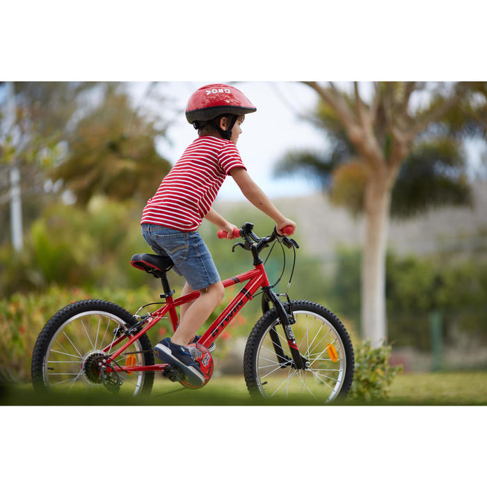 b 39 twin vtt enfant racingboy 320 20 pouces 6 8 ans red decathlon. Black Bedroom Furniture Sets. Home Design Ideas