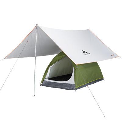 Lona Refugio Camping Multifunción Fresh Blanco | 9 m²