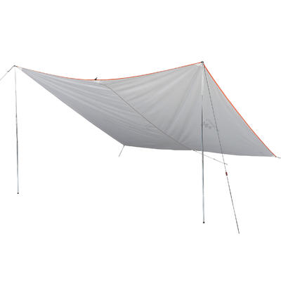 Lona para acampar Fresh Quechua blanco