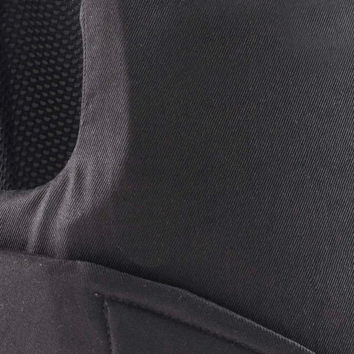 兒童馬術防護背心100-黑色