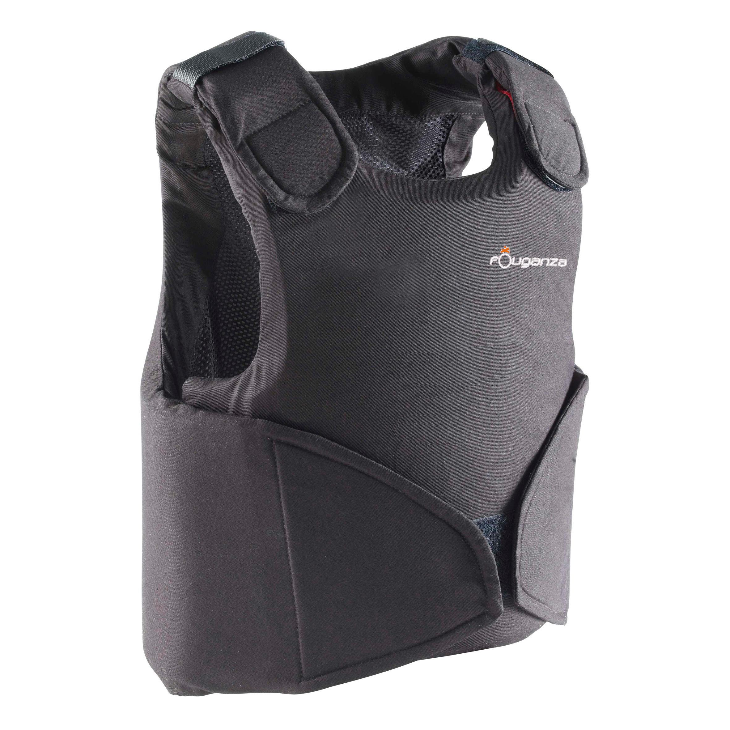 Fouganza Bodyprotector Safety 100 voor kinderen, ruitersport thumbnail