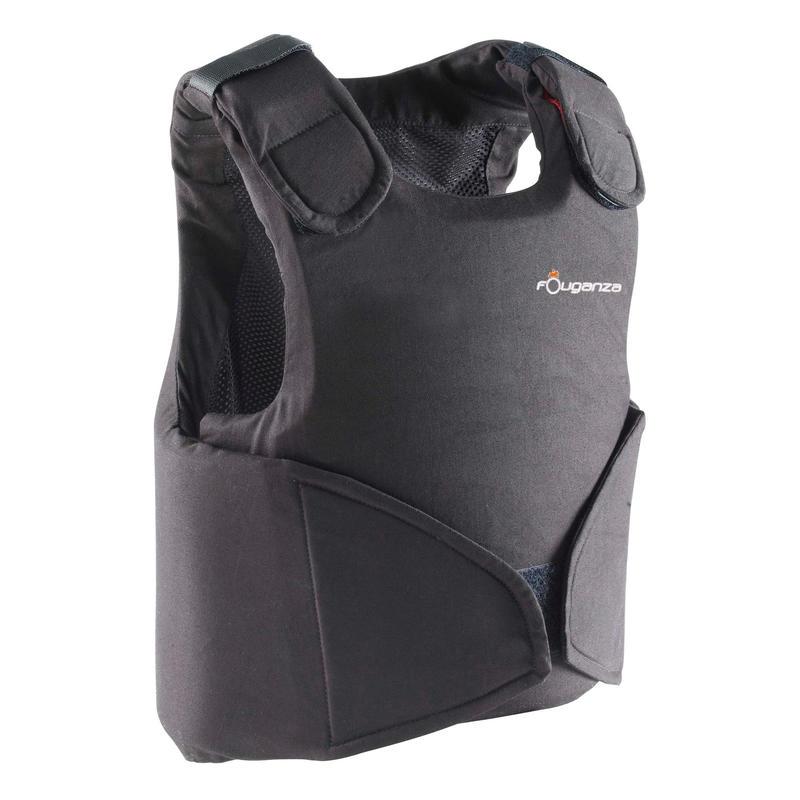 Junior Horse Riding Safety 100 Body Protector - Black