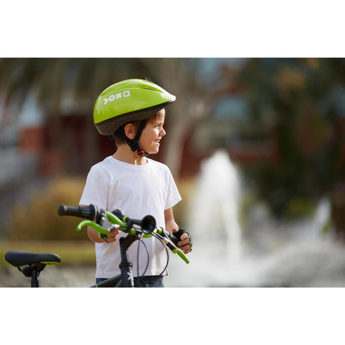 Fahrrad-Hupe Kinder, schwarz/grün
